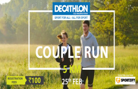 Decathlon India Run - OMR's Couple Run