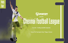 Sportzify Chennai Football League - 1st Edition
