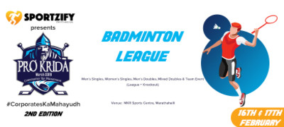 ProKrida Bangalore Badminton League
