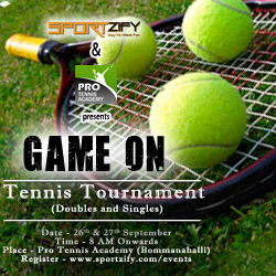 Game On (Tennis Tournament)