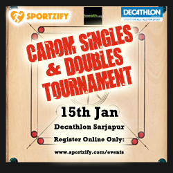 Singles & Doubles Carom Tournament