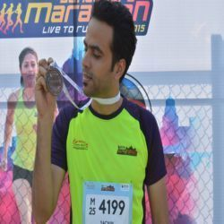 Resolute Running By Our Next Fitness Star 'Sachin Thakur'