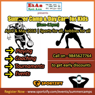 Ekam Sports Arena Summer Camp
