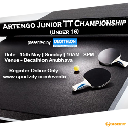 Artengo Junior Table Tennis Championship
