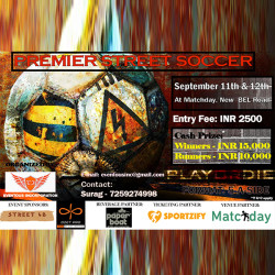Premier Street Soccer - 5 a Side Open Football Tournament