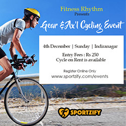 Gear & Ax'L Cycling Event 2.0