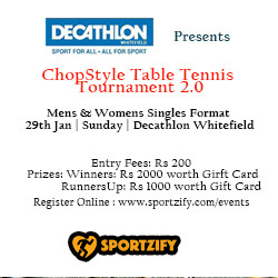 ChopStyle Table Tennis Tournament 2.0