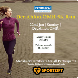 Decathlon OMR 5K Run