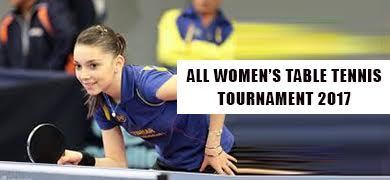 All Womens  Table Tennis Tournament - 2017