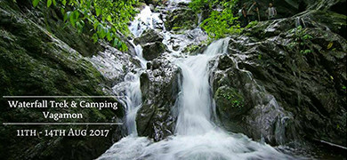 Monsoon Delight at Vagamon - Waterfall Trek & Camping