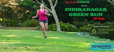 Green Run Indiranagar - 2K, 4K, RUN – September