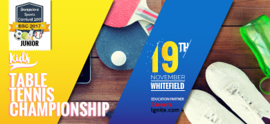 Kids Table Tennis Championship - BSC Junior