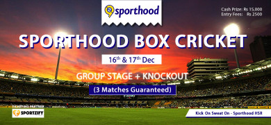 Sporthood Box Cricket