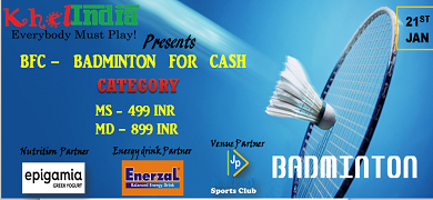 Badminton For Cash