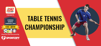 CSC Table Tennis Championship