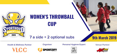 Sporthood Women's Throwball Cup